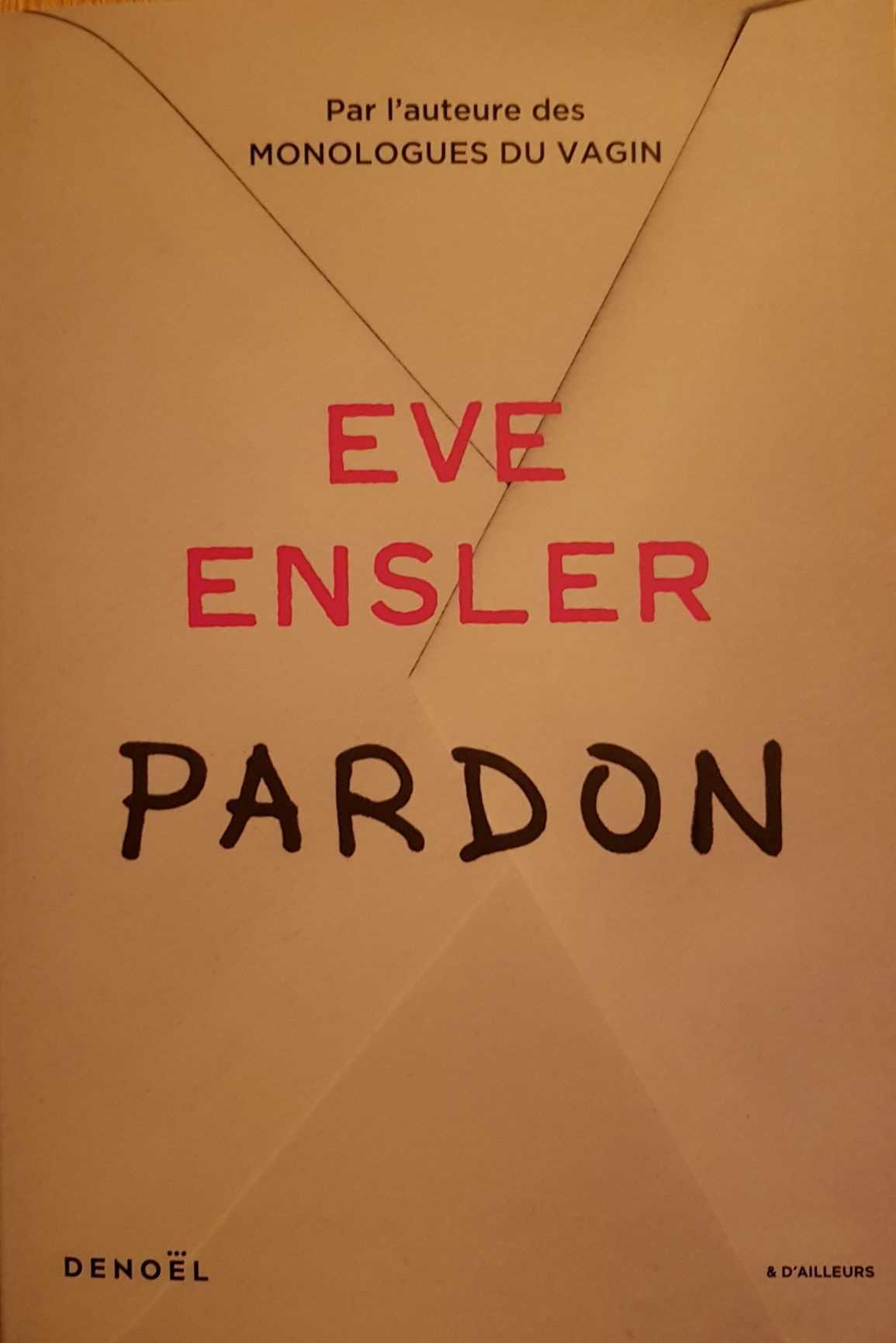 Pardon Eve Ensler