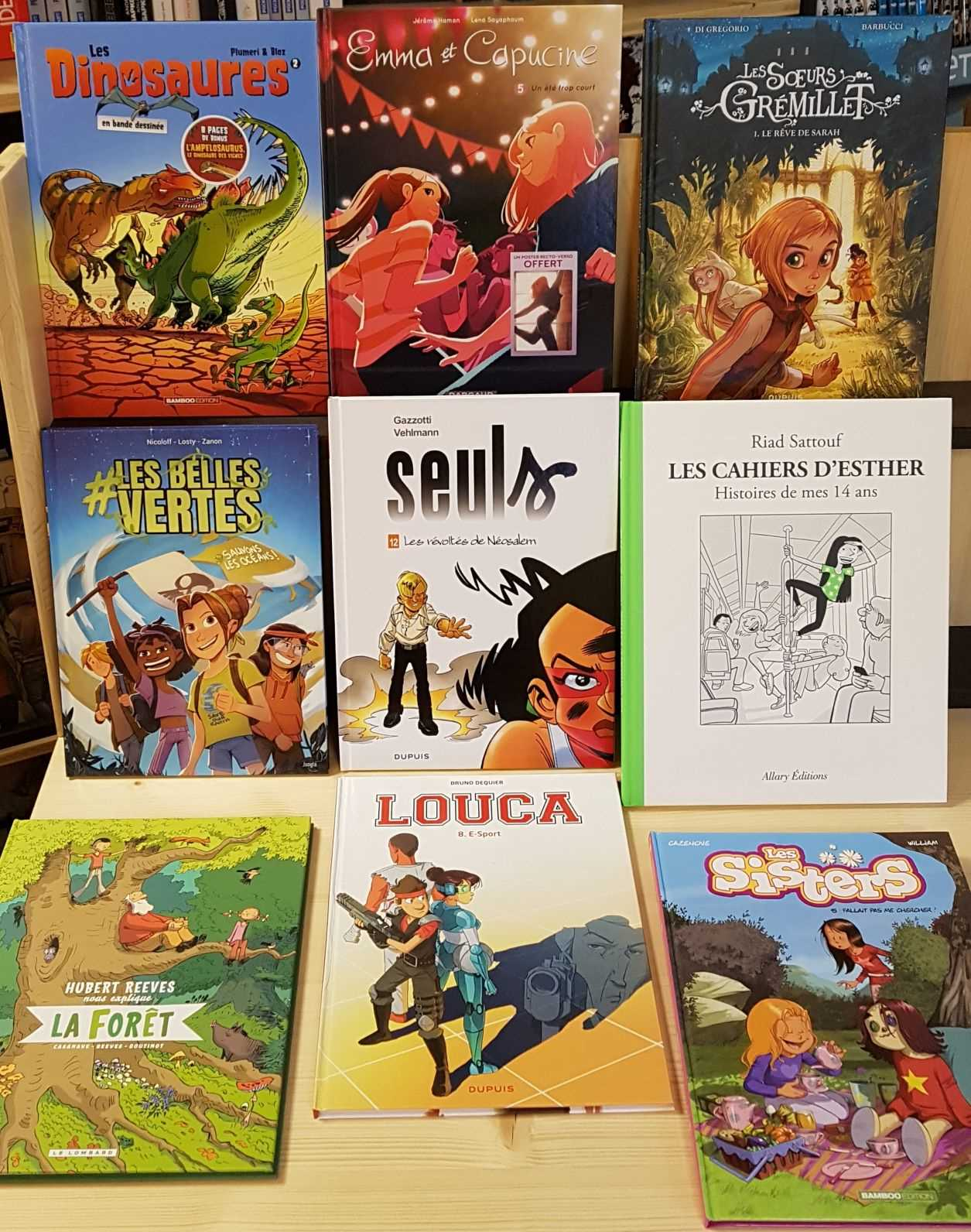 Librairie La Librai'bulles BD Histoire de vie jeunesse