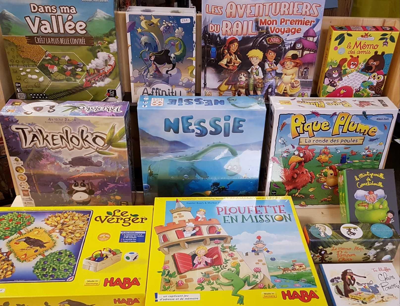 Librairie La Librai'bulles jeux enfants