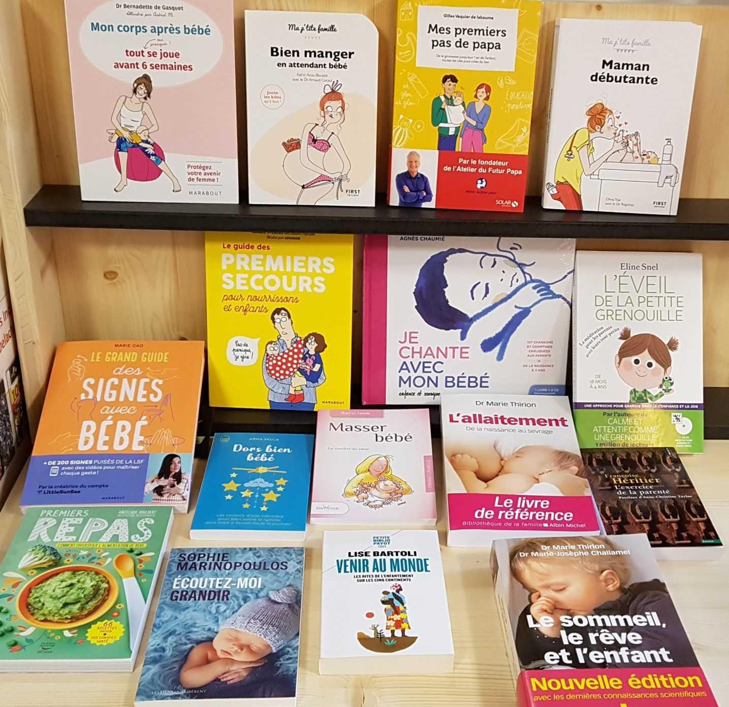 Librairie La librai'bulles jeunes parents