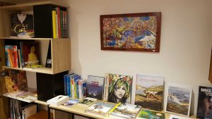 Exposition Didier Fleurentin Librairie La Librai'bulles