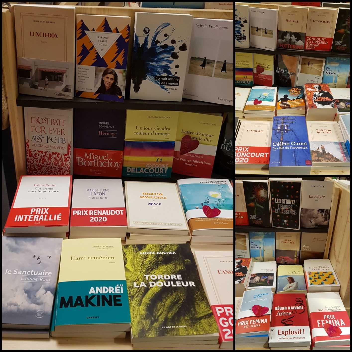Rentrée littéraire de janvier librairie La Librai'bulles