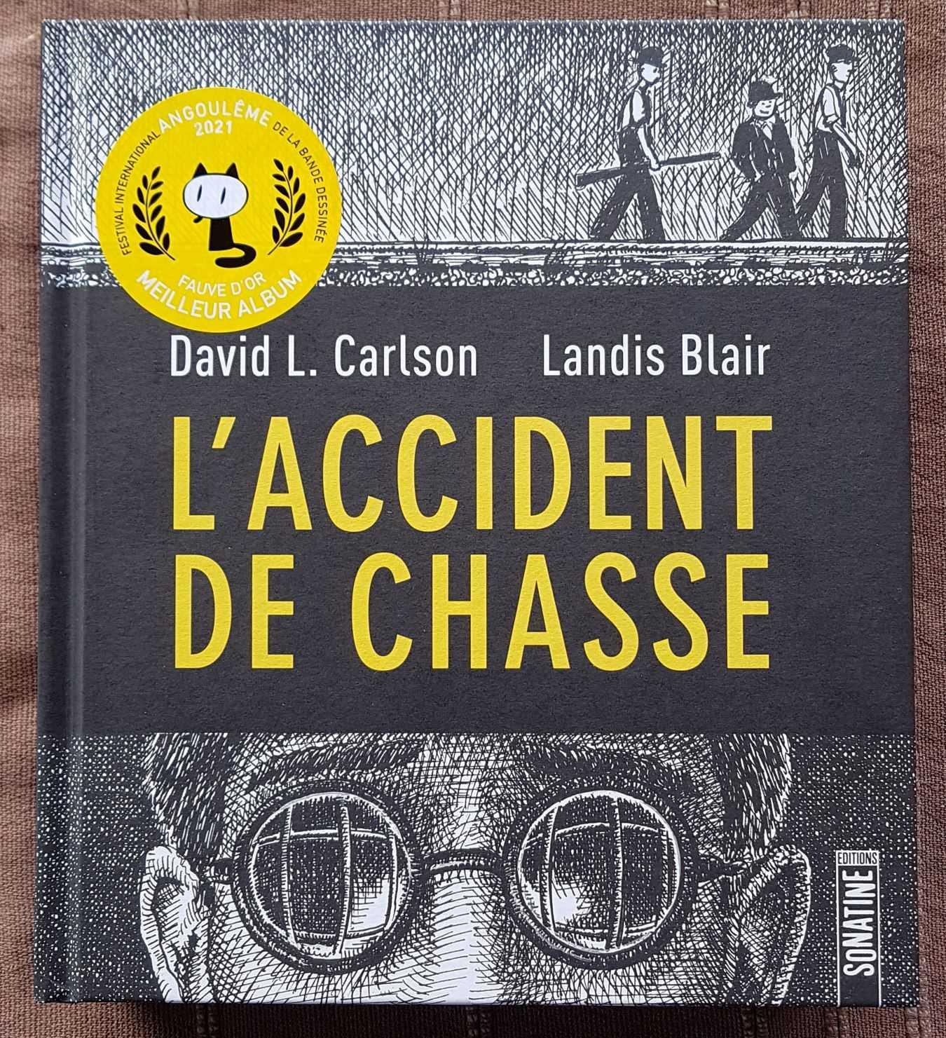 L'accident de chasse librairie La Librai'bulles