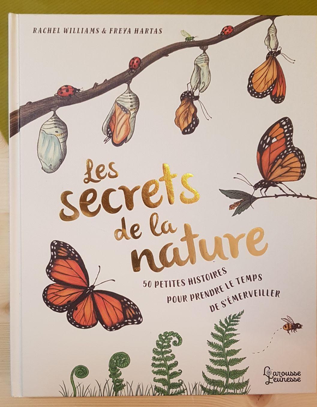 Les secrets de la nature librairie la librai'bulles
