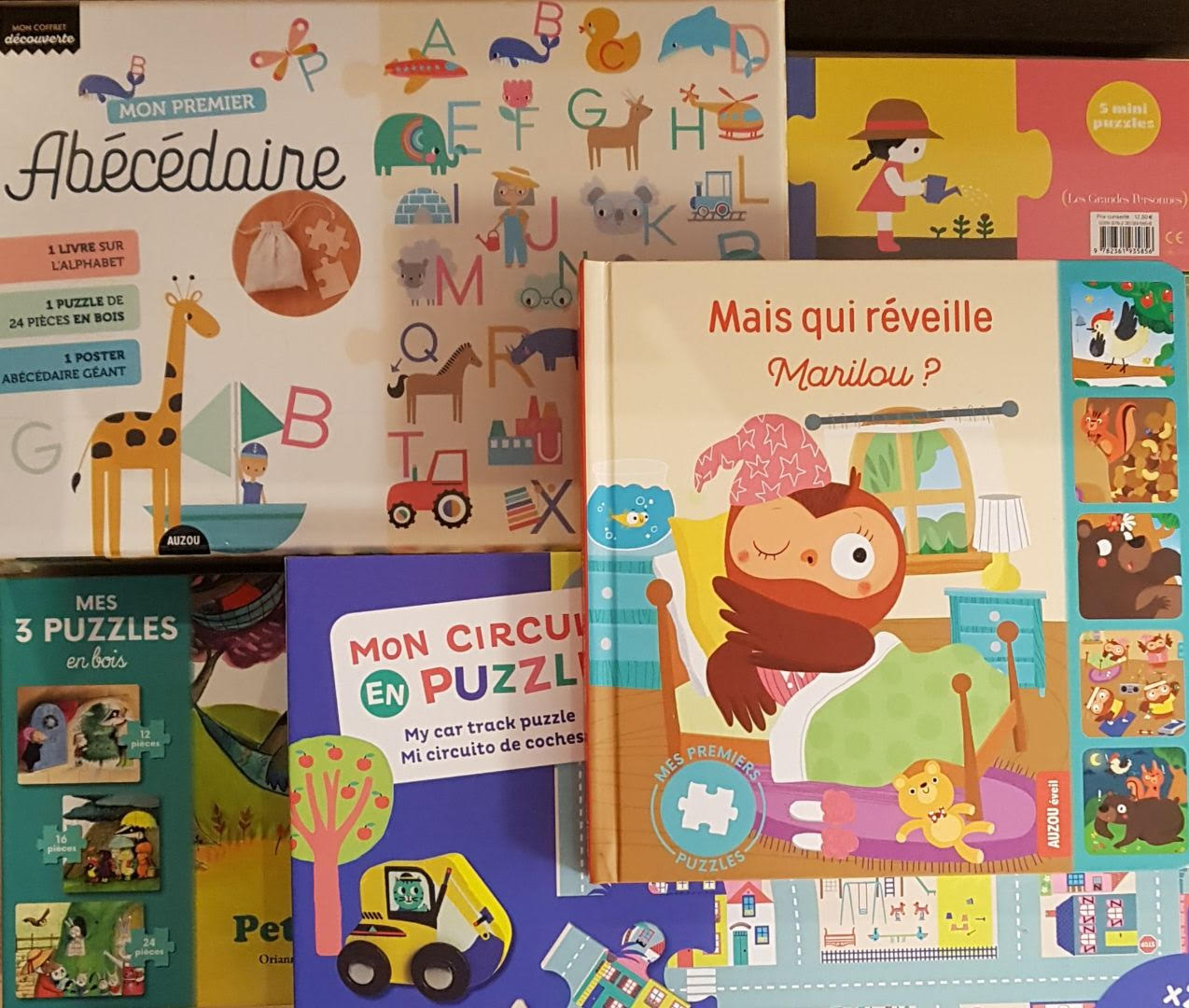 puzzles petits librairie la librai'bulles