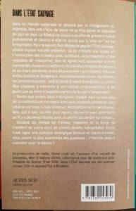 Dans l'Etat sauvage Diane Cook librairie La Librai'bulles